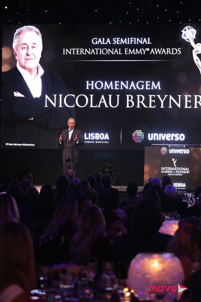 Gala Semi Final - International Emmy Awards