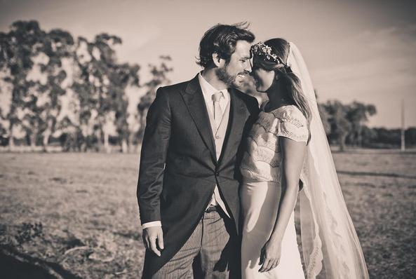 A apresentadora tem partilhado algumas fotos do seu casamento