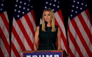 Ivanka Trump tem acompanhado o pai na campanha presidencial