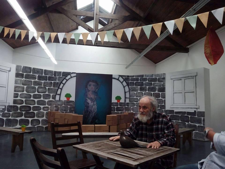 José Rodrigues na Fundação Escultor José Rodrigues