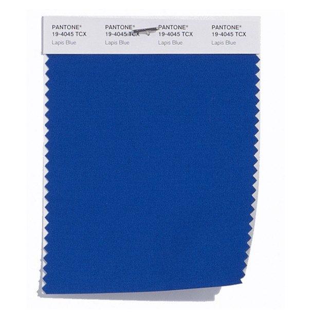 Lapis Blue 19-4045: Pedra Azul Lápis. Tem mais vitalidade que o azul marinho