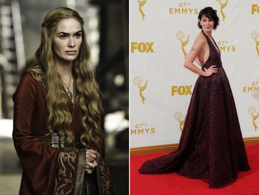 Lena Headey: Longe do ar aristocrático da família Lannister, de 'A Guerra dos Tronos', com cabelo longo de tom claro, Lena Headey esteve à altura do evento com um visual em tons escuros onde o cabelo curto de cor negra fez toda a diferença.