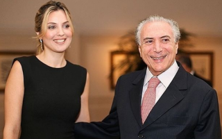 Marcela e Michel Temer