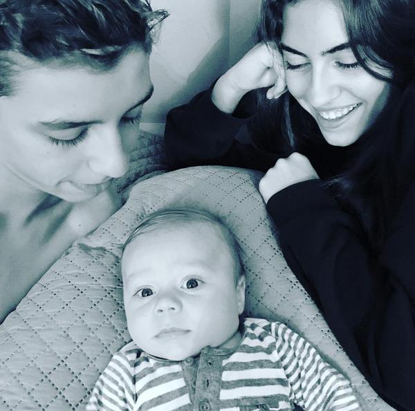 Os três filhos de Filipa Valente: Martim, Mariana e o bebé Mateus