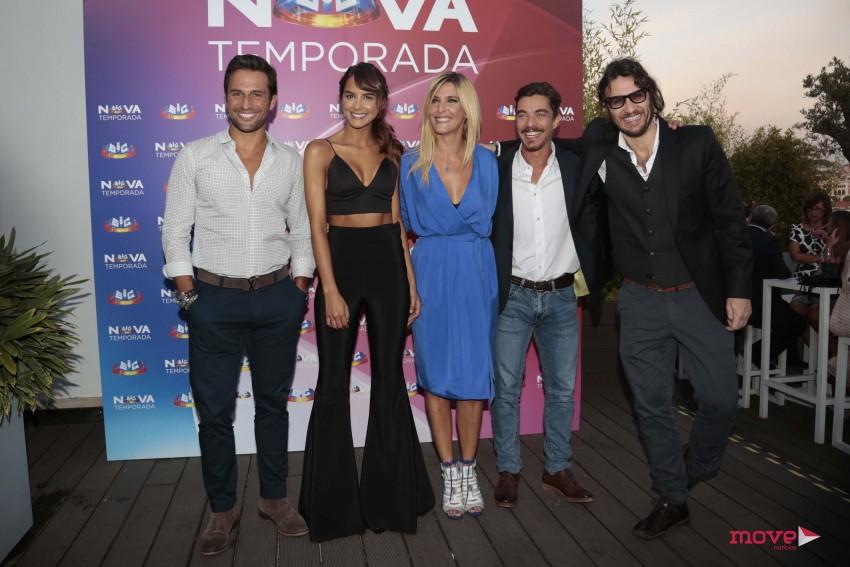José Fidago, sara Matos, Inês Castel Branco, José Mata e Gabriel Nunes