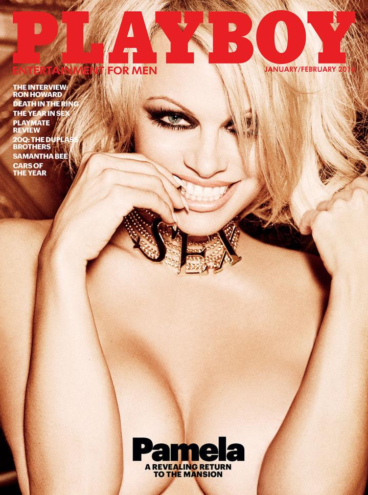 Pamela Anderson, capa da Playboy