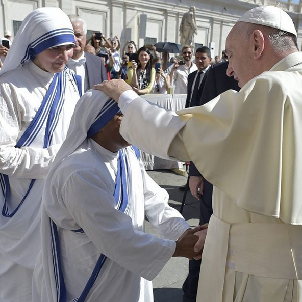 Papa Francisco canonização Madre Teresa de Calcutá