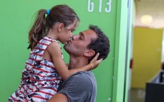 Pedro Teixeira e filha Maria
