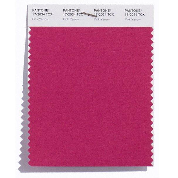 Pink Yarrow 17-2034: Rosa Yarrow (planta da Califórnia). Uma cor bem festiva e presente nos cosméticos e maquilhagem há já muito tempo