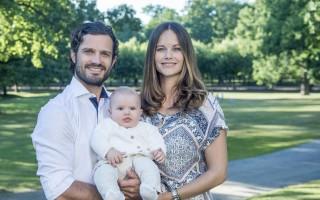 Príncipes Carl Philip, Sofia e Alexander da Suécia