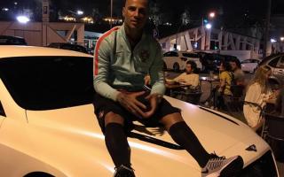 Ricardo Quaresma carro