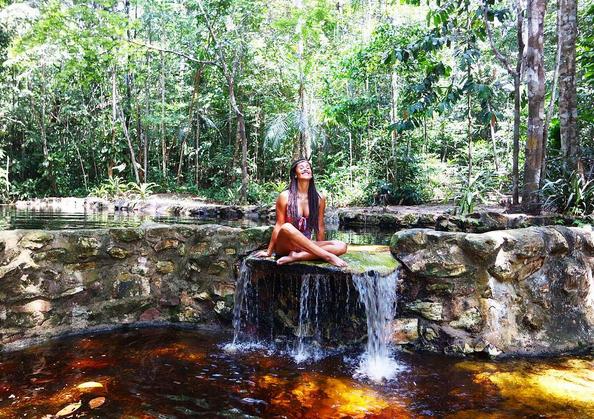Rita Pereira tem sentido saudades da Amazónia