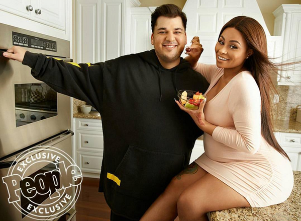 Rob Kardashian e Blac Chyna People 3