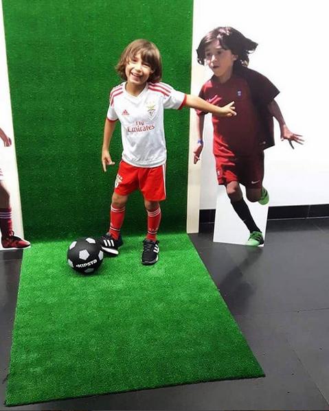Rodrigo, filho de Vanessa Rebelo e Bruno Aguiar