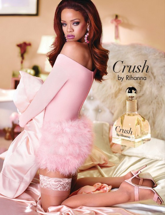 Crush Fragrance Campaign