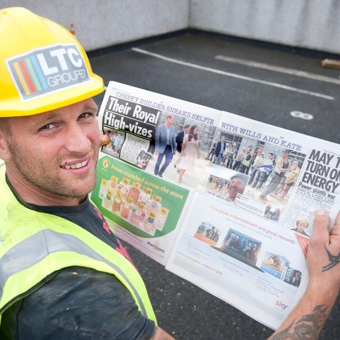 Sam Wayne ficou famoso na imprensa britânica