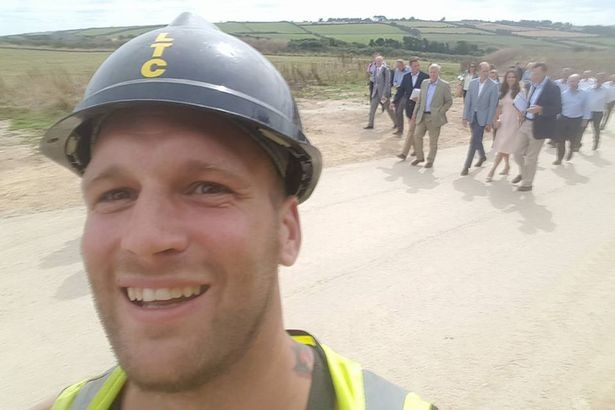 Sam Wayne selfie a Kate Middleton e William 2