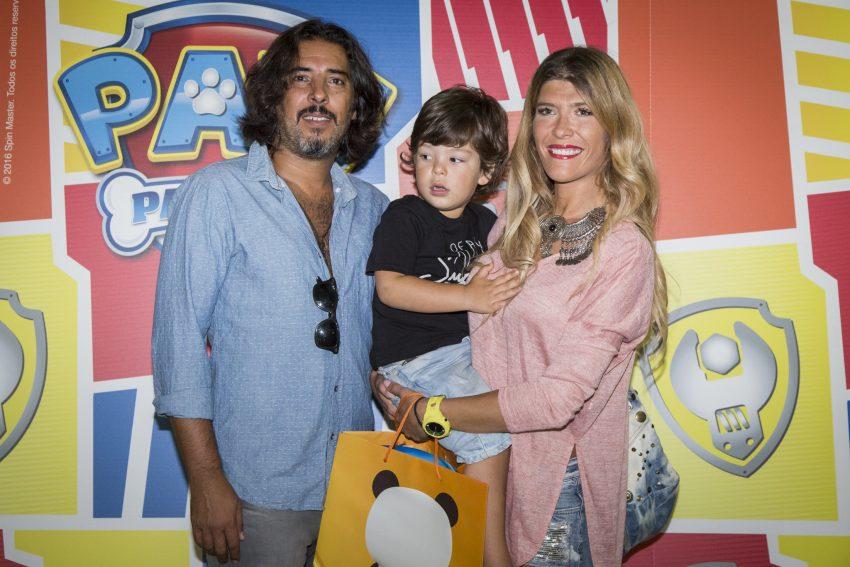 Sara Esteves Cardoso com João e Vicente