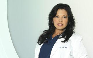 """GREY'S ANATOMY - ABC's """"Grey's Anatomy"""" stars Sara Ramirez as Callie Torres. (ABC/BOB D'AMICO)"""