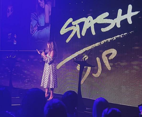 Na apresentação de 'Stash' em Londres