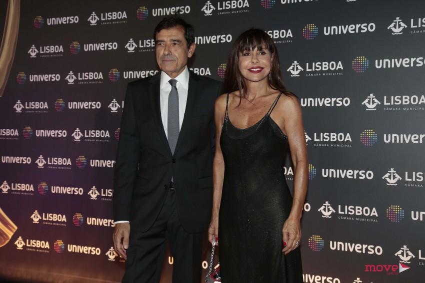 José Eduardo Moniz e Manuela Moura Guedes