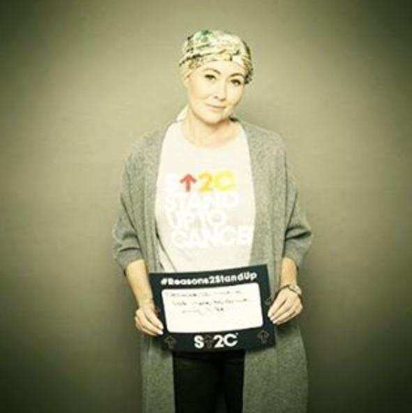 A foto que a atriz publicou no Instagram