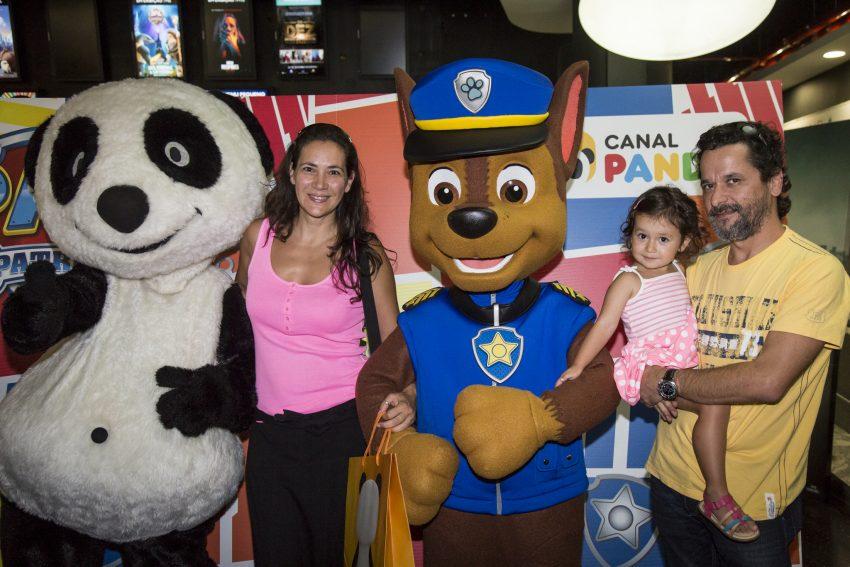 Sónia Antão, Carolina e Filipe Brito