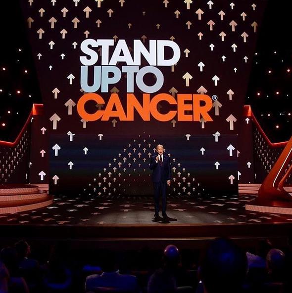A cerimónia Stand Up To Cancer