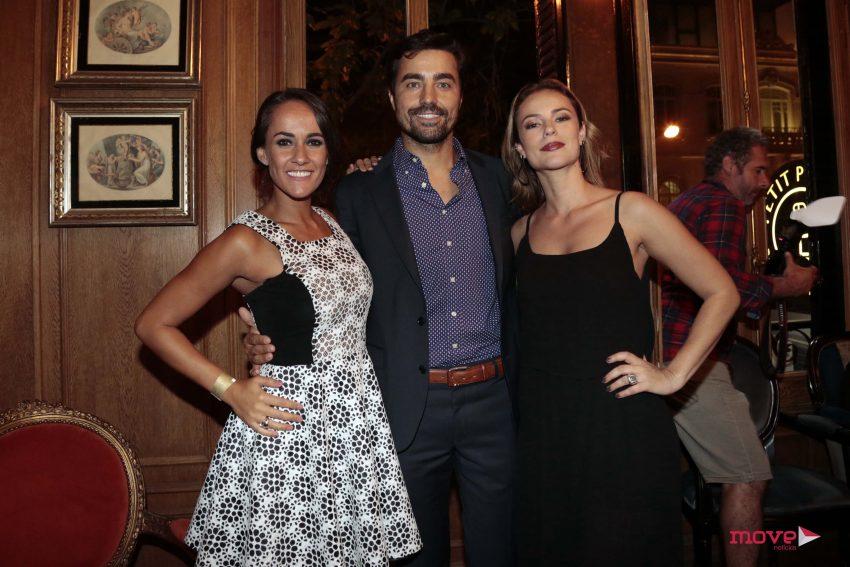 Francisca, Ricardo Pereira e Paola Oliveira