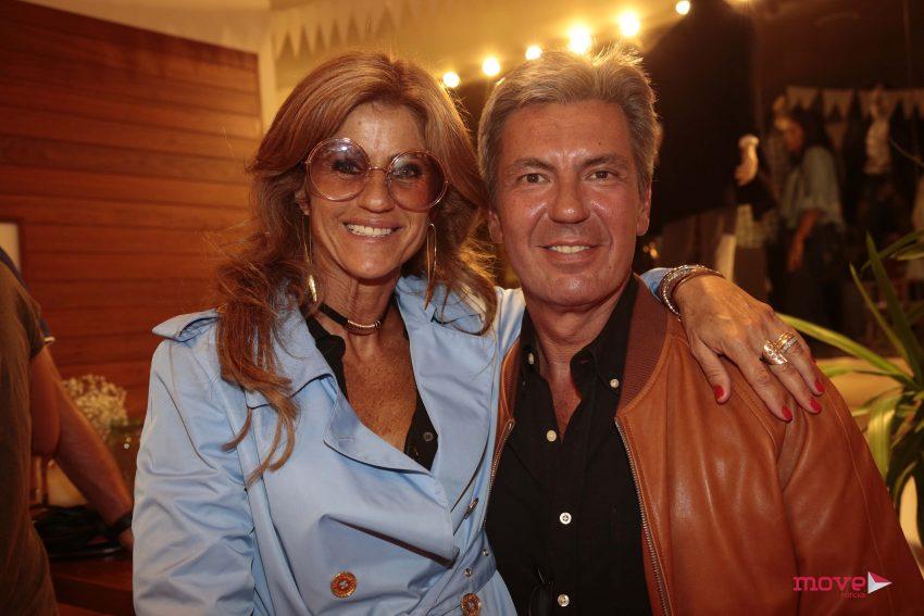 Bibá Pita e o marido Fernando Gouveia