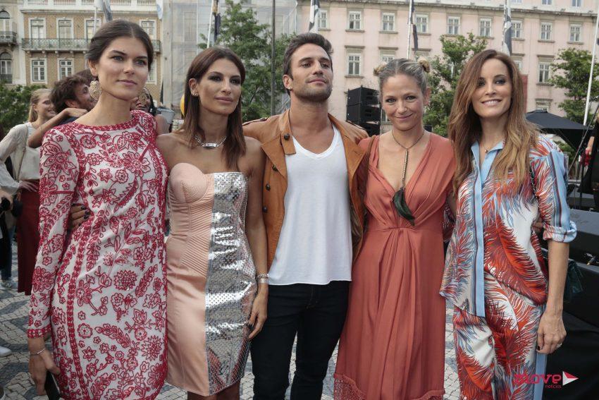 Sónia Balacó, Raquel Prates, José Fidalgo, Paula Lobo Antunes e Maria João Bastos