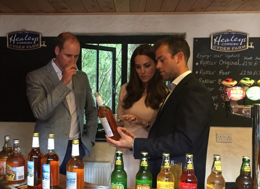 Visita Cornualha príncipes William e Kate 10