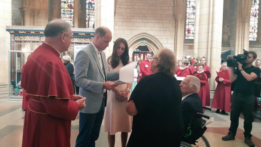 Visita Cornualha príncipes William e Kate 2