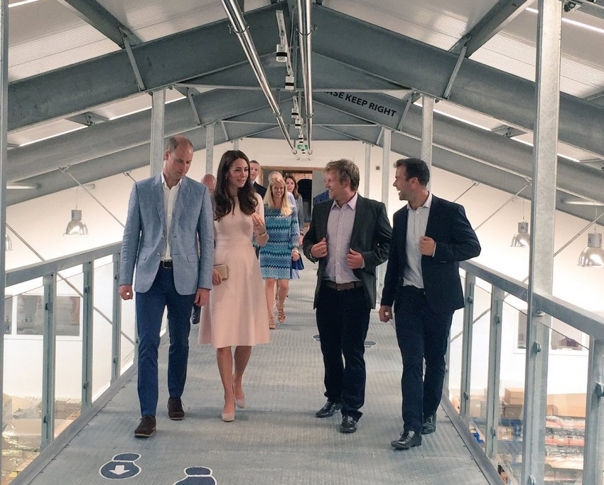 Visita Cornualha príncipes William e Kate 7