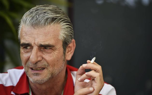 Maurizio Arrivabene (ITA) Ferrari Team Principal. 26.03.2015. Formula 1 World Championship, Rd 2, Malaysian Grand Prix, Sepang, Malaysia, Thursday.  - www.xpbimages.com, EMail: requests@xpbimages.com - copy of publication required for printed pictures. Every used picture is fee-liable. © Copyright: Price / XPB Images