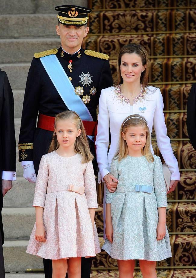 No dia da coroação do pai, Felipe VI