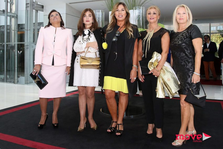 Manuela Gandra, Alice Maria, Paula Brito, Antonieta Gandra e Zita Pereira