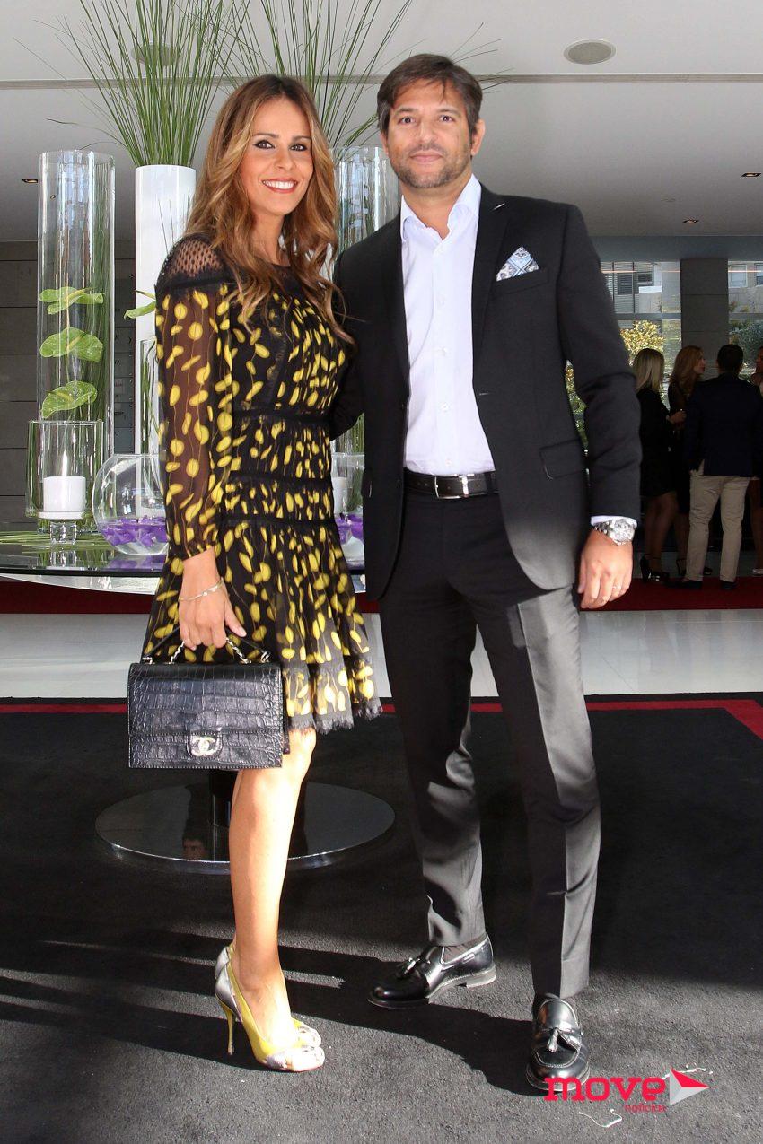 Carla Ascenção e o marido Pedro Ribeiro