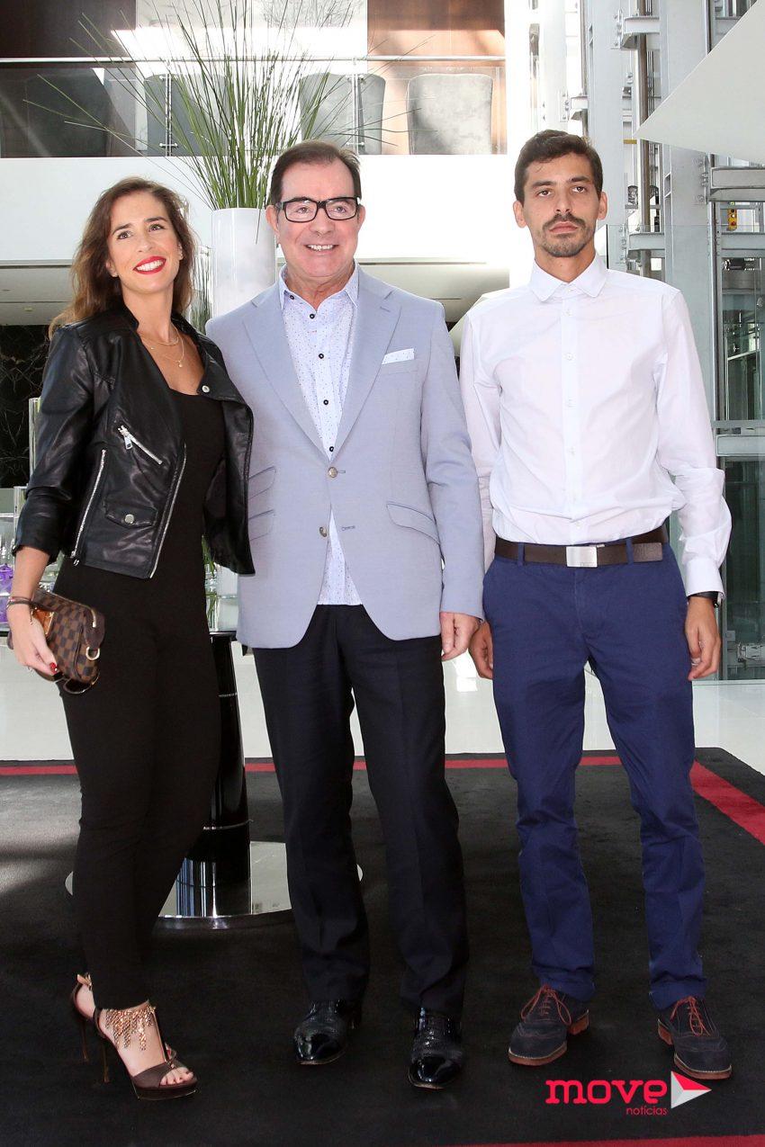 Ana Magalhães, Carlos Magalhães e Carlos Braga