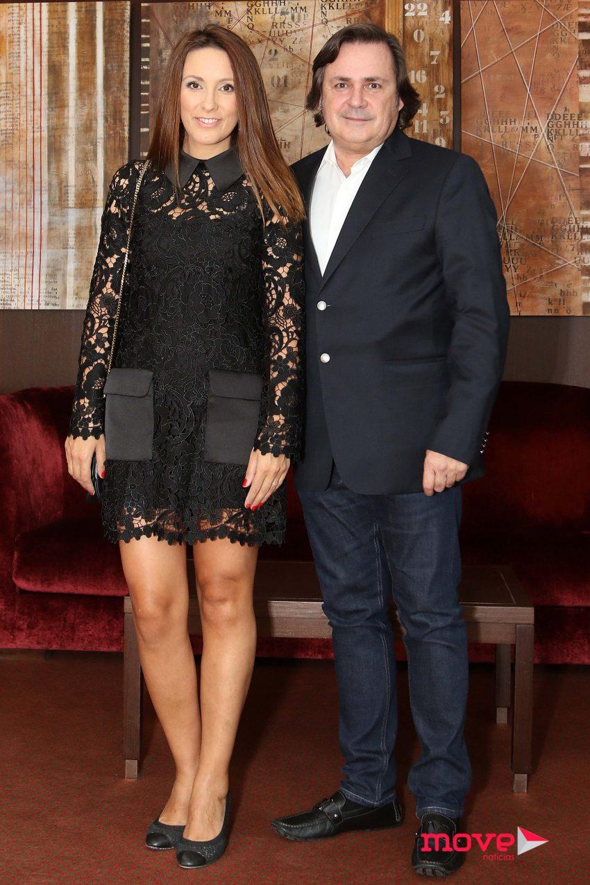 Micaela Oliveira e o marido Alfredo Resende