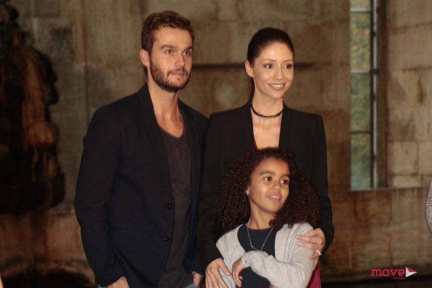 Sofia Escobar com Fernando Pires e Ema Melo