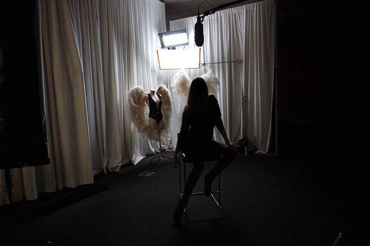 A marca de lingerie anunciou a nova 'angel' com esta foto