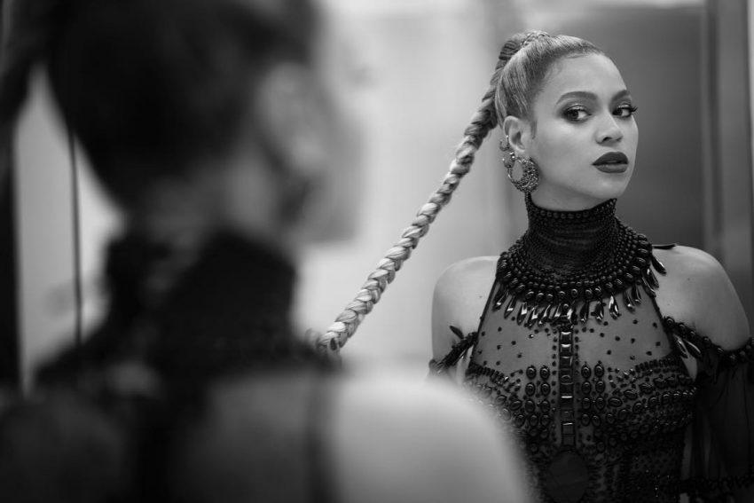 Beyoncé a preparar-se para a gala