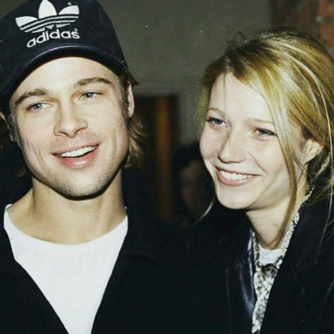 Brad Pitt e Gwyneth Paltrow quando namoravam