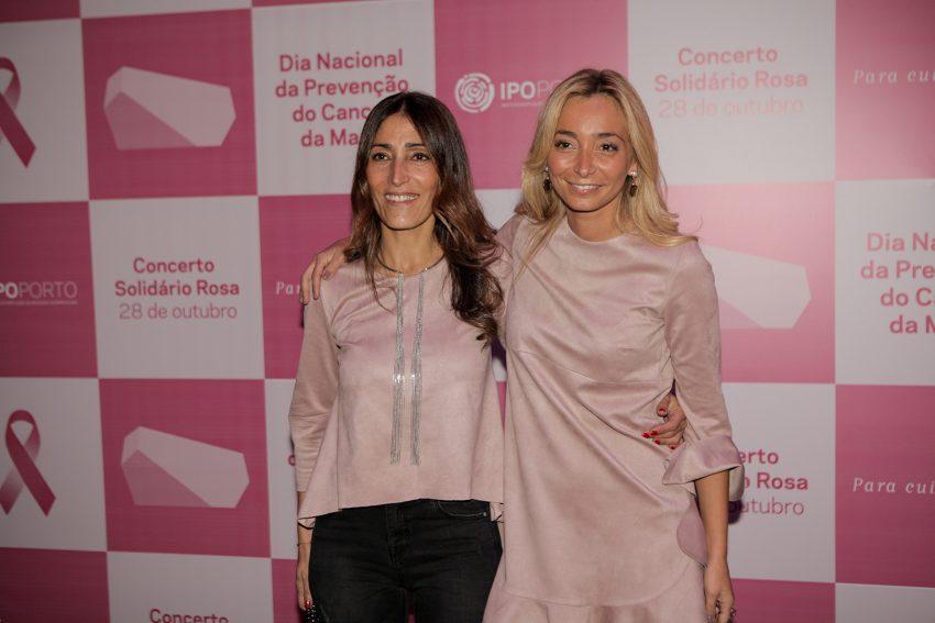 Cláudia Oliveira e Carina Caldeira