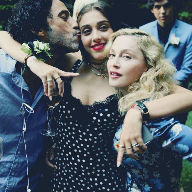 Carlos Leon, Lourdes Maria e Madonna