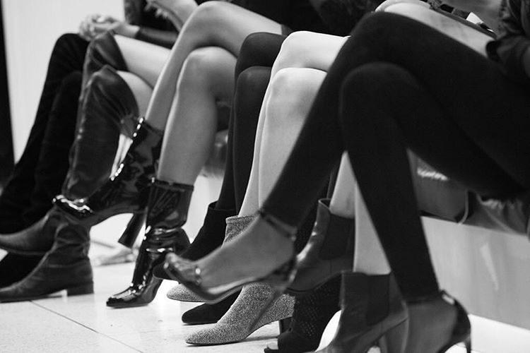 Os castings para o desfile da Victoria's Secret