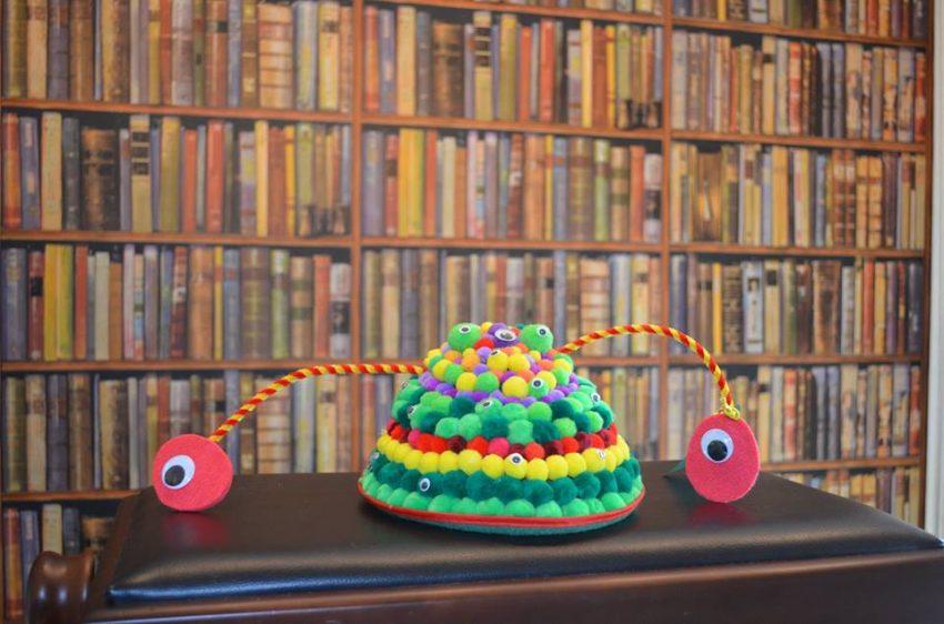 Os chapéus vencedores da categoria 'Infantil'