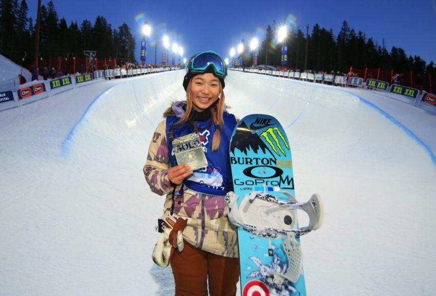 Chloe Kim, 16 anos, atleta