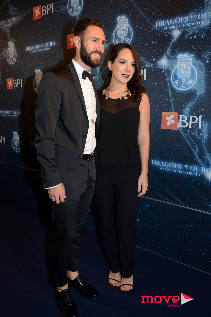 Miguel Layún e Ana Laura Galvan